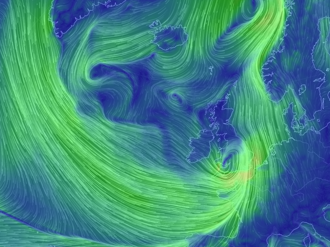 Storm Katie mixes up the Atlantic air