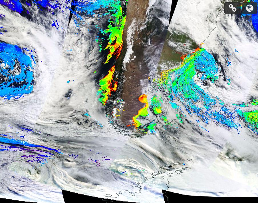 El Nino and Algae in Chile