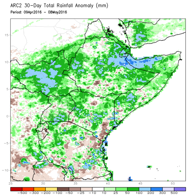 East Africa rains takes lives and destroy infrastructure – El Nino?
