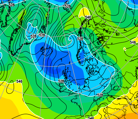 Unseasonably Cold April Weather in UK